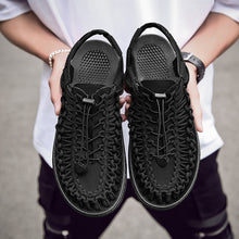 Load image into Gallery viewer, Men High Quality Handmade Summer Fashion Breathable Shoes Water Weave Beach Shoes Casual Sandals