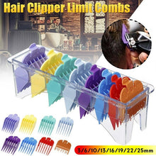 Load image into Gallery viewer, 10/8/3Pcs\/Set Hair Clipper Guide Accurate Limit Comb Multi Size Barber Colorful Hair Clipper Men Fashion Barber Universal Attachment Limit Comb Guide Guards Trimmer