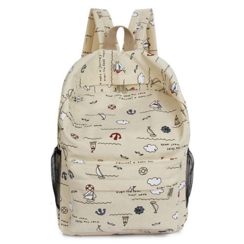 Newest Hot Toddler Kid Child Boy Girl Cartoon Floral Backpack School Bookbag Rucksack Travel Shoulder Bag