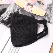 Load image into Gallery viewer, 3/5 Pcs Black Cotton Dustproof, Fogproof and Sunscreen Outdoor Masks