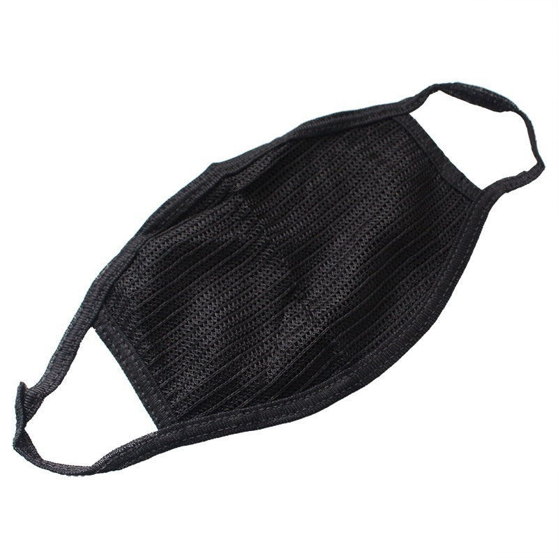 3/5 Pcs Black Cotton Dustproof, Fogproof and Sunscreen Outdoor Masks