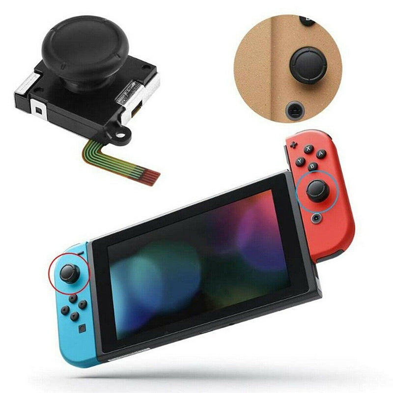 1/2X  Thumbstick 3D Analog Joystick Replacement for Nintendo Switch Joy-Con