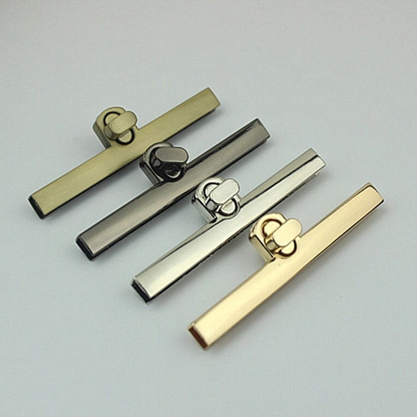 1PC Bag Buckles Metal Clasp Turn Lock Bag Hardware Accessories Craft Replacement Twist Locks Purse Hardware