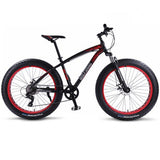 wolf's fang Bicycle Mountain 26*4.0 Bike bmx 8 speed Bikes Fat bike mtb road  bikes new Snow man Bicycles free shipping