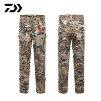Daiwa Fishing Pants Outdoor Camping Hiking Suit Sport Men Trousers Python Breathable Hiking Print Camouflage Fishing Clothes