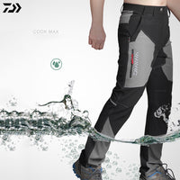 daiwa patns men Professional Summer Outdoor Sports Pants Fishing Pants waterproof AntiUV Quick Drying Breathable fishing clothes