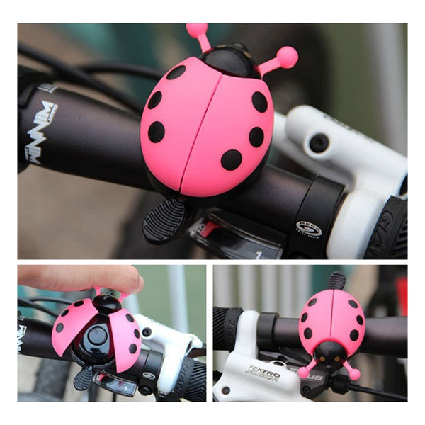 Bicycle Bell Ring Beetle Cartoon