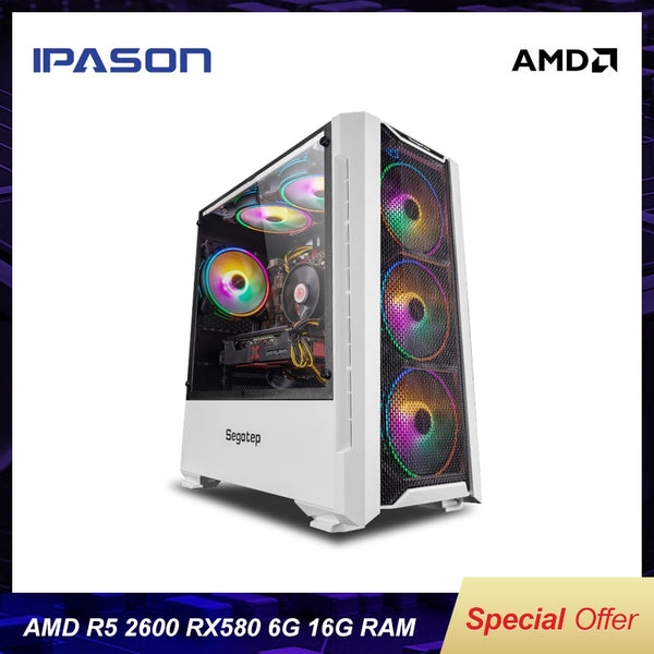 AMD Gaming Computer PC Ryzen5