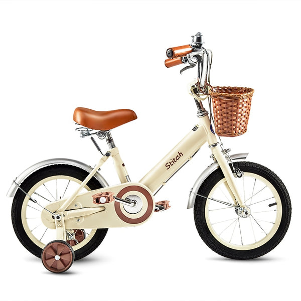 Stitch series 12 14 16 inch Girls Bicycle Stitch Forest Princess Kids Bike Girls Bike