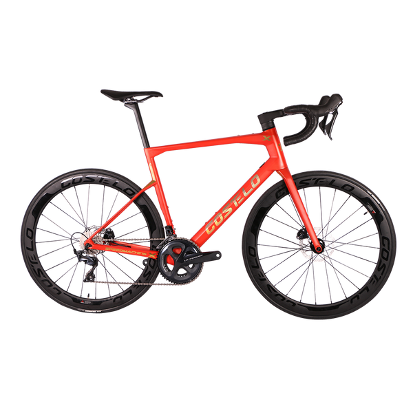 T1000 speedmachine X complete bike R8000 R8020  carbon road bike 50mm carbon wheels disc brake rim brake