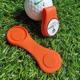 Silicone Golf Hat Clip Ball Marker Holder with Strong Magnetic Attach to Your Pocket Edge Belt Clothes Gift