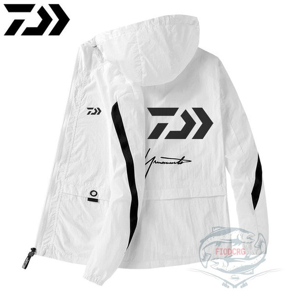 Sunscreen Fishing Clothes Waterproof Breathable Jacket