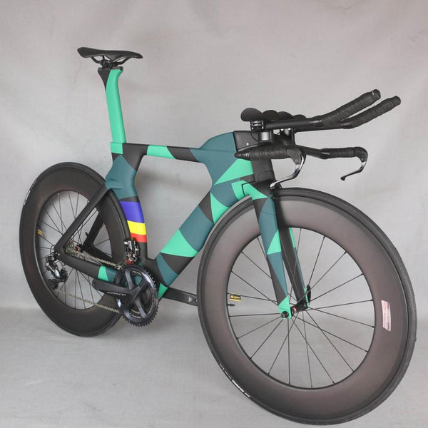TT Bicycle Time Trial Triathlon Carbon Fiber