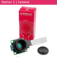 Raspberry Pi High Quality Camera Module 12.3 Megapixel Sony IMX477 Sensor Adjustable  Focus  6mm CS 16mm C-mount Lens for 4B/3B+