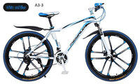 Mountain bicycle Carbon Steel Frame 26 inch Wheel 21/24/27 speed cross country bike bikes student bmx Road Racing Speed Bike