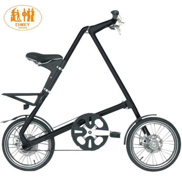 Light weight Smart SLIDA  folding bike Folding Bicycle 16 Inch size Complete Road mini Bike Aluminium Frame New Creative In Car