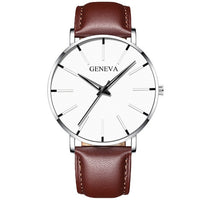 Men's Fashion Ultra Thin Watches