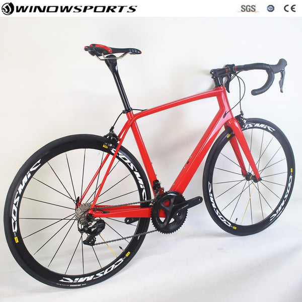 New arrival Carbon Road Complet bike  with R7000/R8000 Groupset 22 speed 49/52/54/56/58cm carbon road bicycle
