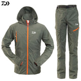 Daiwa Jacket Breathable Fishing Clothing Waterproof Sun UV Protection Outdoor Fishing Wear Pants Fishing Suit Men Fishing Jacket