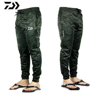 Daiwa Fishing Pants Outdoor Sports Quick-drying Breathable Fishing Pants Sports Wear Mens Camouflage Pants Fishing Clothing