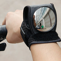 Good Hand Cycling Wrist Mirror Rear View Rearview Safety Bike Arm Back Mirror WEST BIKING Bicycle Rear Reflector Wrist Mirror