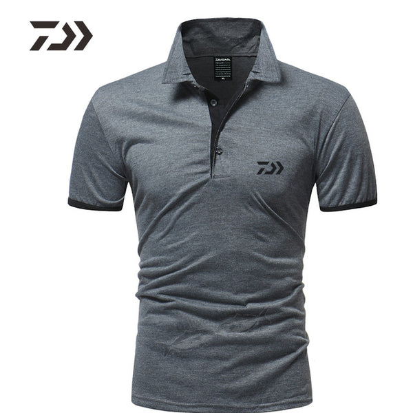 Daiwa Fishing Clothing Breathable Polo T Shirt Fishing Men Polo Shirt Men Top Casual Sport Fishing Shirt Daiwa for Fishing Wear