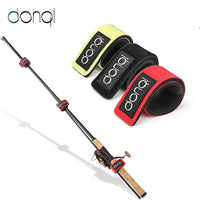 DONQL 3PCS Fishing Tools Rod Tie Strap Belt Tackle Elastic Wrap Band Pole Holder Non-slip Firm Fishing Tool