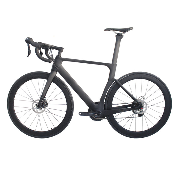 RD525 Aero Disc Road carbon frame road bike complete R8050 Di2  2*11S 49,52,54,56,58cm OEM products carbon frame full bicycle