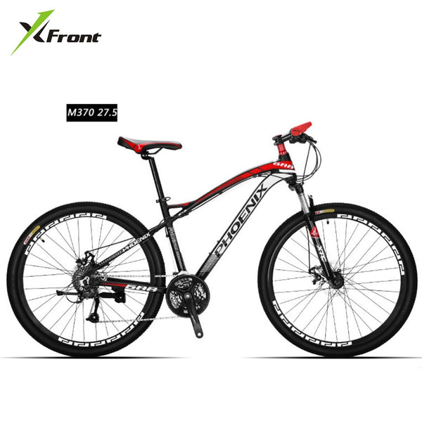 New Brand Mountain Bike Aluminum Alloy Frame 27 Speed 26/27.5 Inch Wheel M370 Dual Disc Brake Outdoor Downhill Bicycle