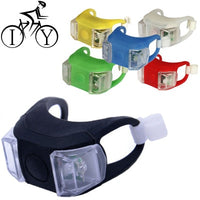 Silicone Rear Light Night Bicycle Lights  LED
