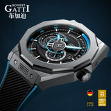 Top Brand GATTI Luxury Leather Mens