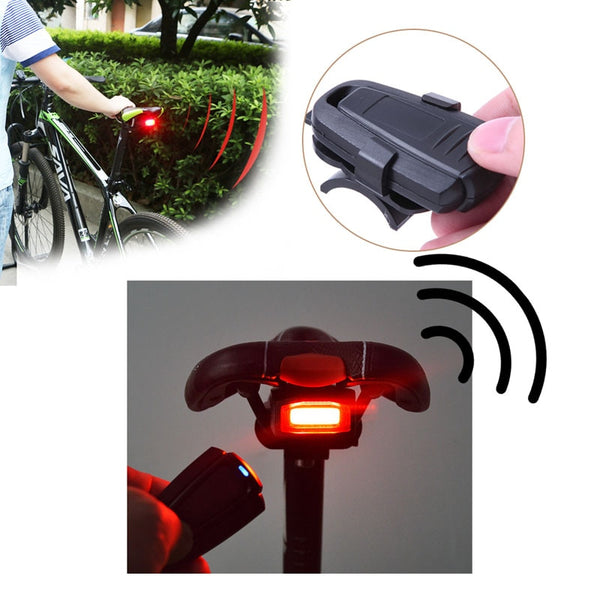 4 In 1 Anti-theft Bike Security Alarm Wireless Remote Control