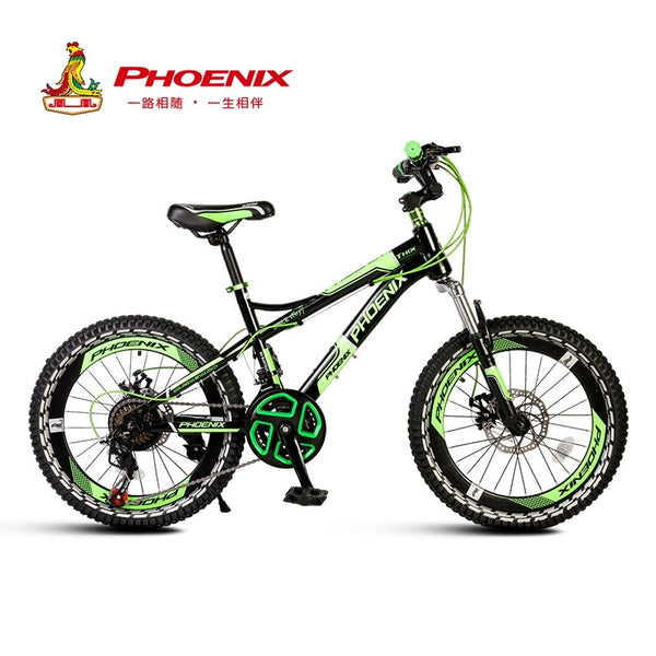 Phoenix High Quality Children Bicycle Durable Lightweight Aluminum Kids Bike 18 20 22 INCH Single Speed 21 Speed Racing Tires