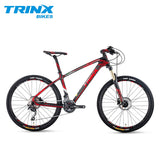 "TRINX 20 Speed Mountain Bike 26"" Air Fork Carbon Fiber MTB Bike Light Weight Bicycle Deore Professional MTB Racing Bike"