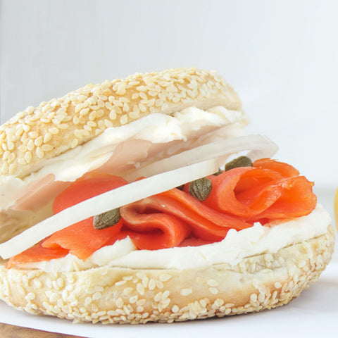 Bagel w/ Salmon & Cream Cheese