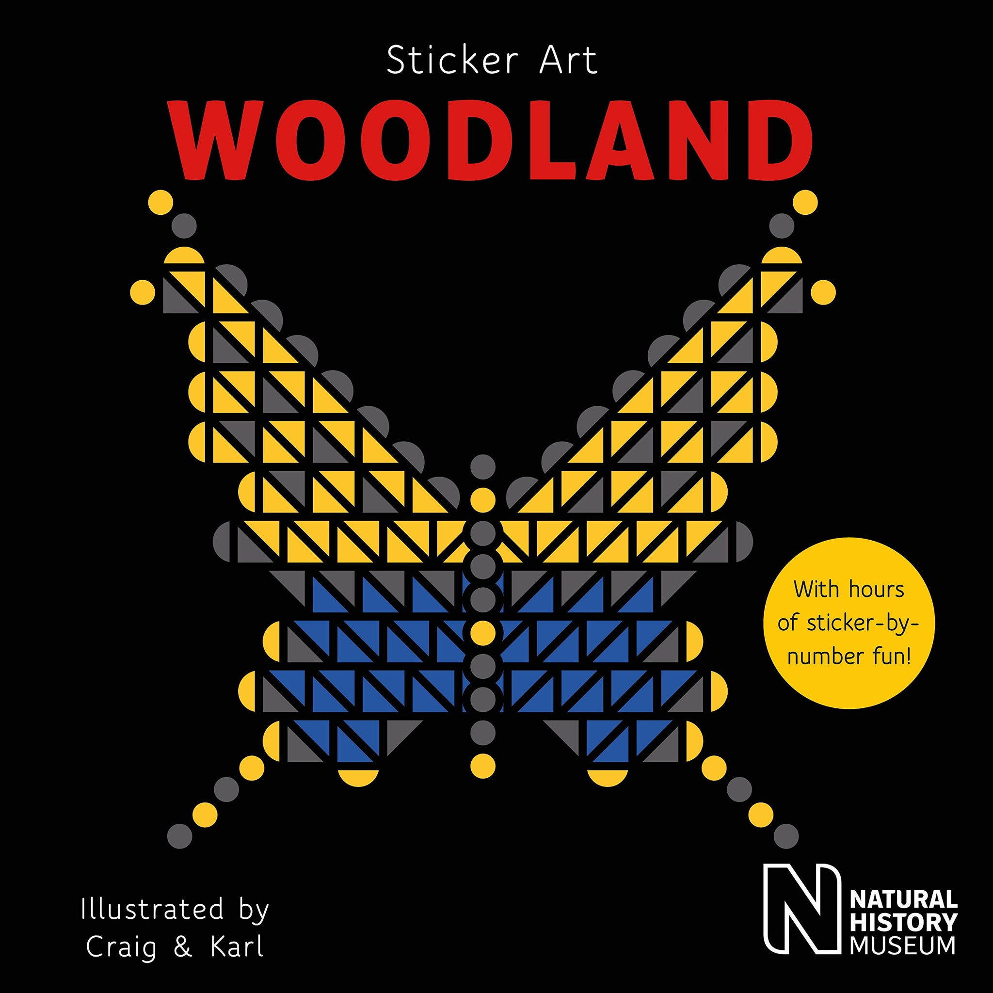 Sticker Art Woodland