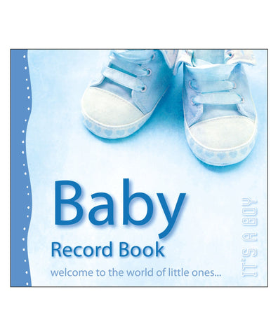Baby Record Book It's A Boy