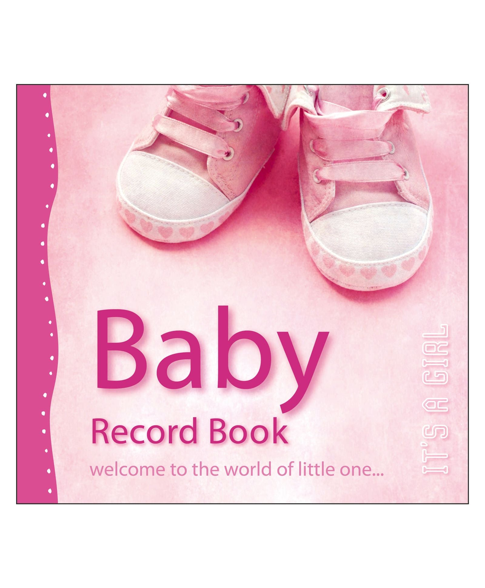 Baby Record Book It's A Girl