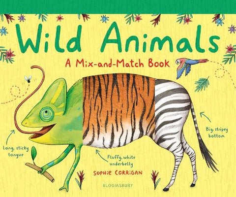 Wild Animals : A Mix-and-Match Book