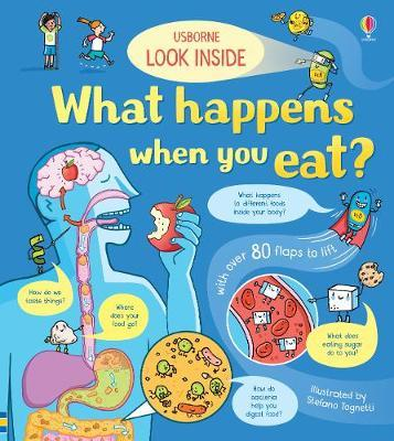 Usborne - Look Inside What Happens When You Eat