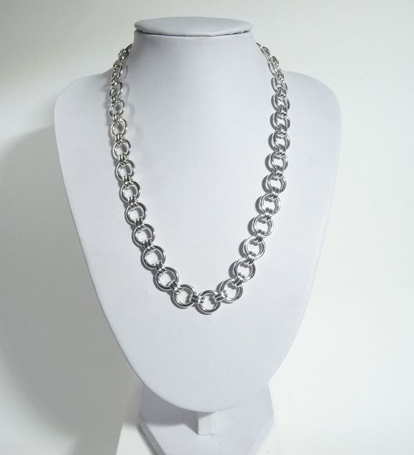 925 Hand Crafted Sterling Silver Necklace Which is Exclusive - The Silver Vault UK