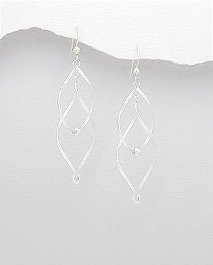 925 Sterling Silver Ball Earrings - The Silver Vault UK