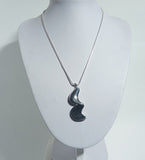 925 Sterling Silver Hand Crafted Pendant & Chain - The Silver Vault UK