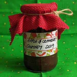 Apple and Cranberry Chutney