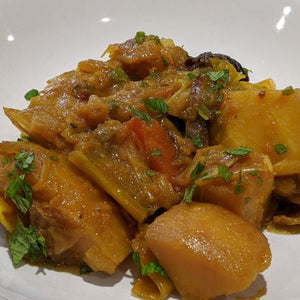 Cape Malay Vegetarian Curry (serves 1)