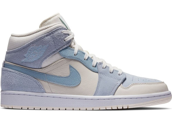 Air Jordan 1 Mid Mixtured Texture Blue