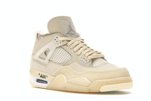 Air Jordan 4 Off White Sail GS