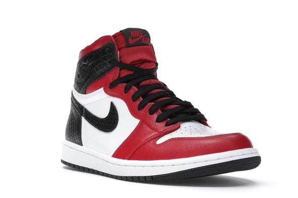Jordan 1 Retro High Satin Snake Chicago