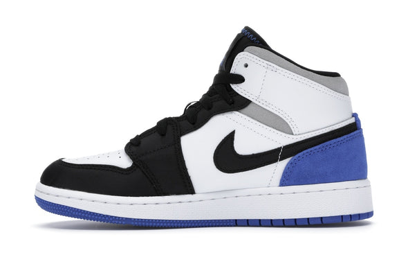 Jordan 1 Mid SE White Black Royal
