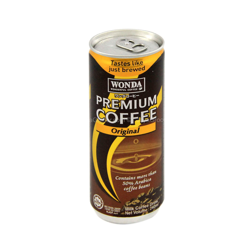 Wonda Premium Coffee Original Milk Coffee Drink 240ml